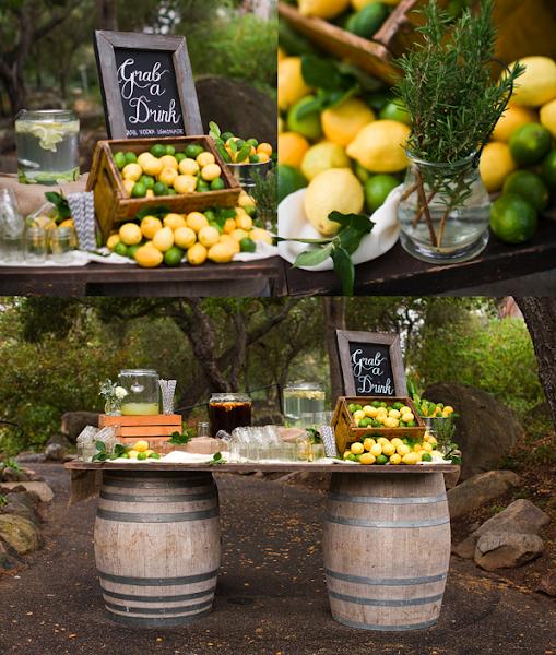 Ideas para decorar mesas de fiesta decorar tu casa es - Centros de mesa con limones ...
