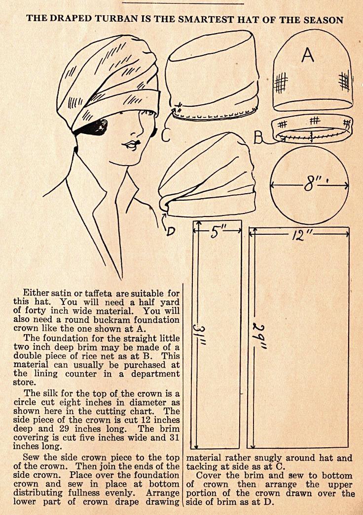 Free Cloche Hat Sewing Patterns Cloche Hat Pattern Felt Hats