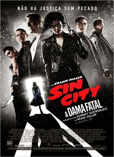 Baixar Sin City 2 A Dama Fatal AVI Dual Áudio + RMVB Dublado Torrent