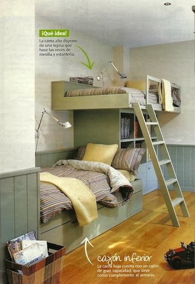 Decorole dormitorio juvenil mobiliario integrado - Casa diez dormitorios ...