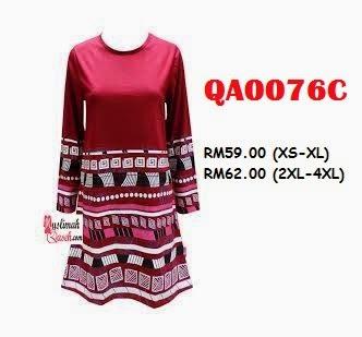 T-Shirt-Muslimah-Qaseh-QA0076C