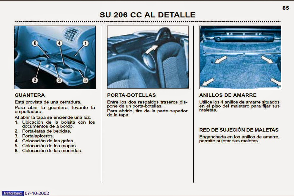 206 cc 2002 manual de usuario espa ol parte 4 de 4. Black Bedroom Furniture Sets. Home Design Ideas