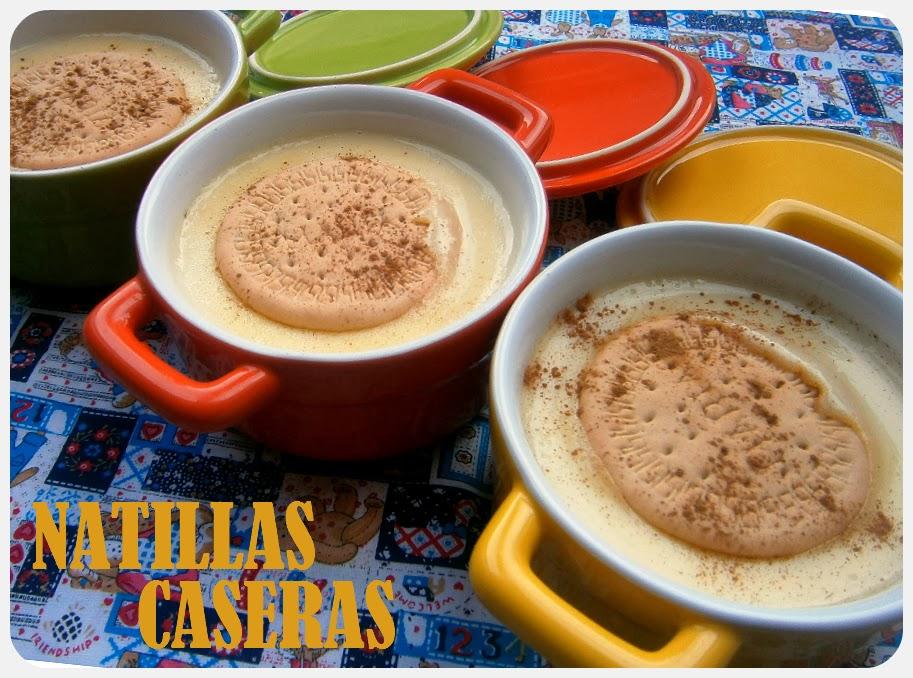 Natillas Caseras.