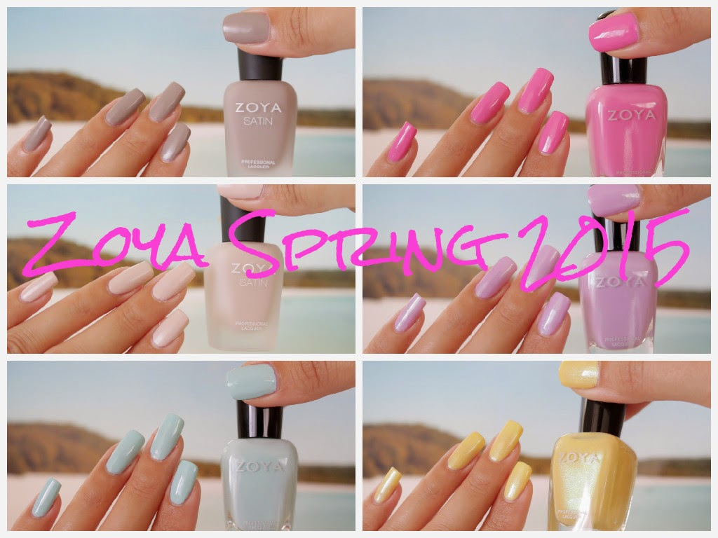 Zoya Spring 2015 Collections