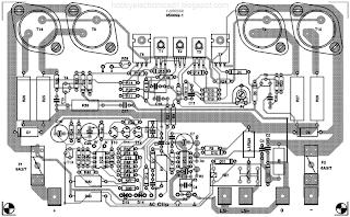 Схема блока питания очень проста, но может обрабатывать большой ток.  Напряжение 'AC' используется для задержки...