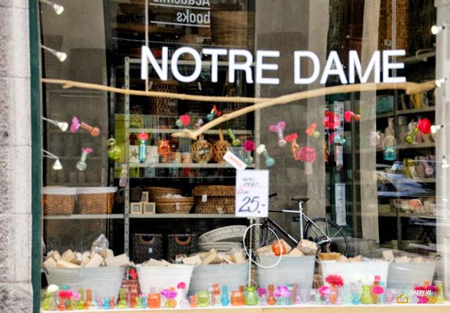 Copenhague - Boutique Notre Dame
