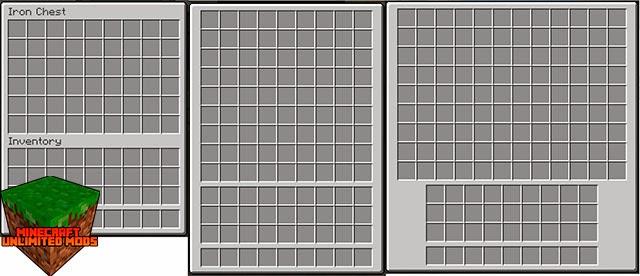 IronChests Mod almacenamiento