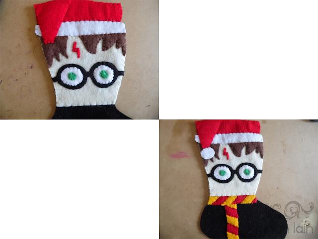 Manualidades Navideñas: Bota de Fieltro - Harry Potter