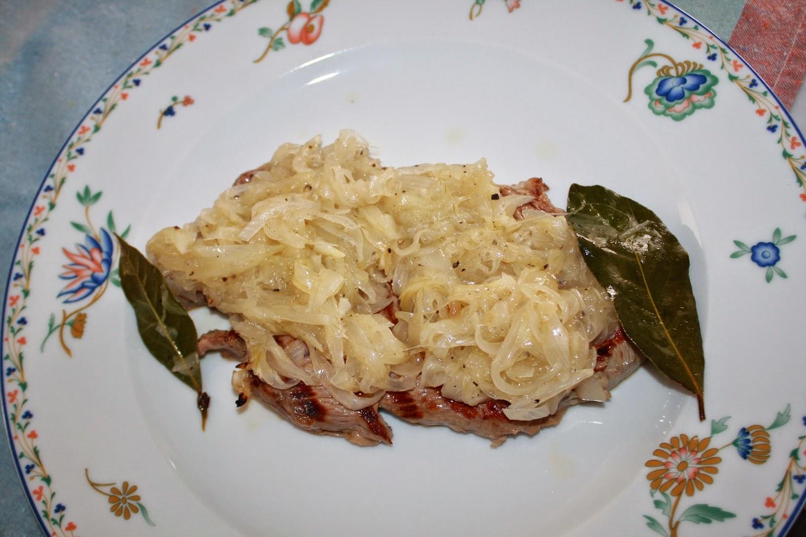 ricetta bistecca cipolle