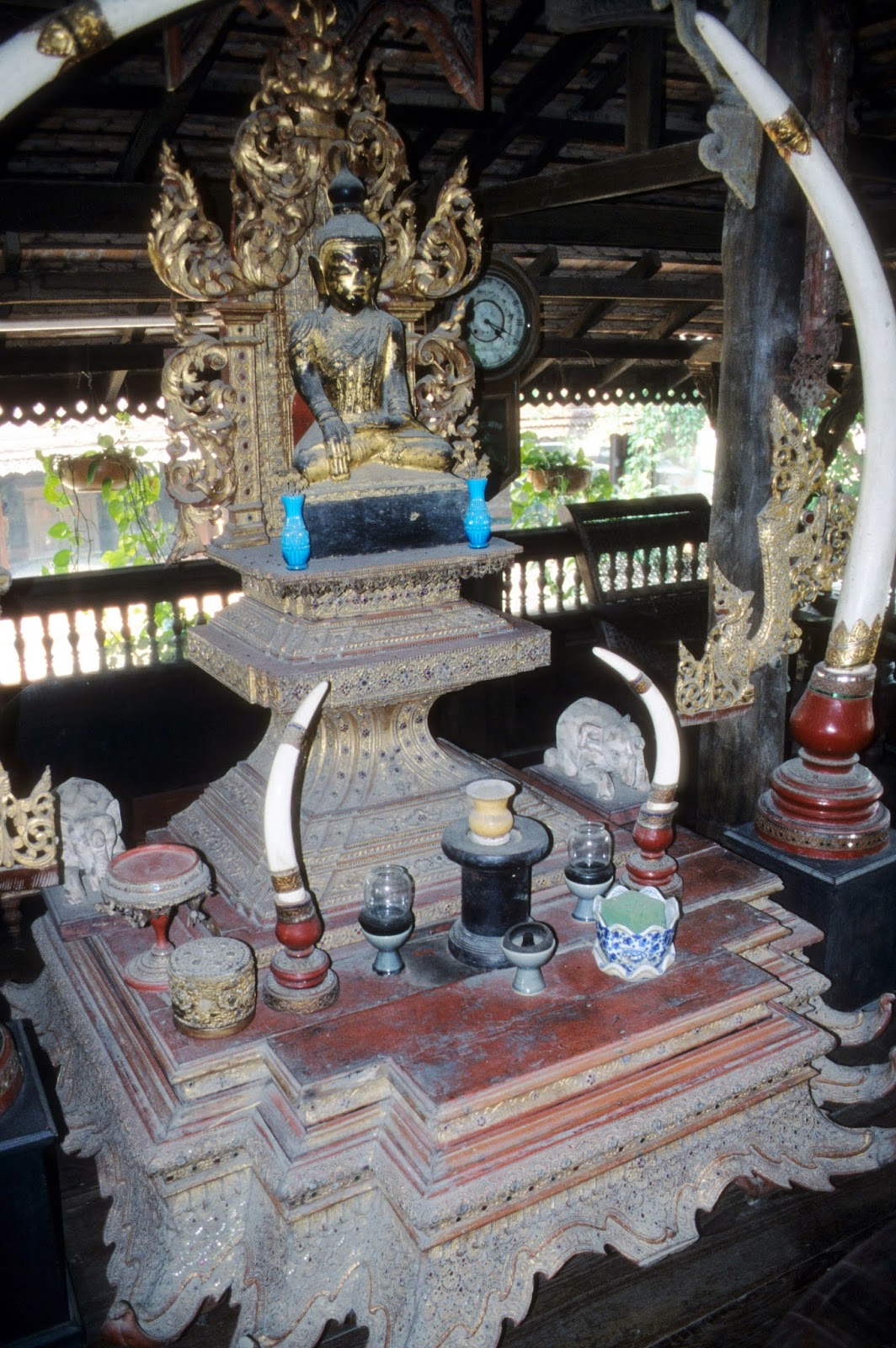 Marla Gentry, Buddha altar, Burma, Chiang Mai, Victoria and Albert Museum, London