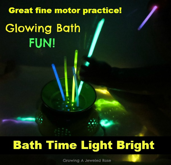 glowing bath