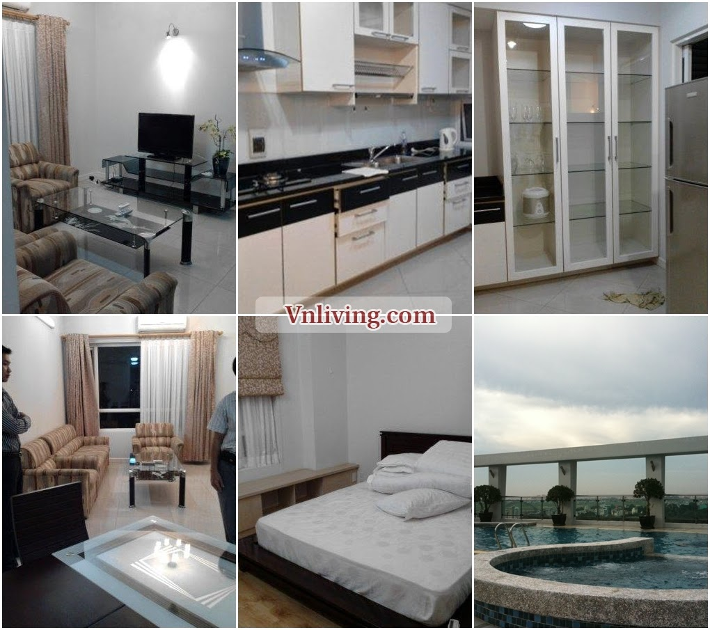 Hoang Minh Giam apartment for rent at Phu Nhuan District