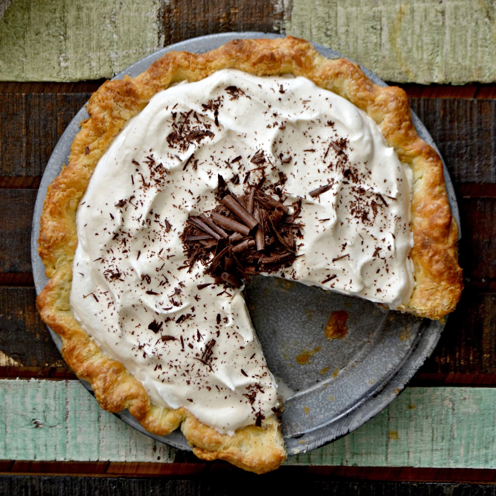 ... : Chocolate Cream Pie and a Video Tutorial on How to Make Pie Crust