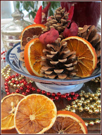 CHRISTMAS DECORATIONS ~ DRIED ORANGES