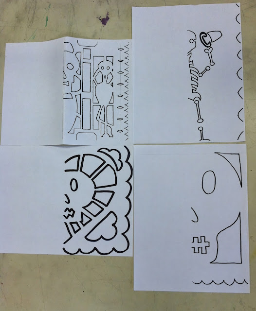 Fifth Grade Papel Picado Templates