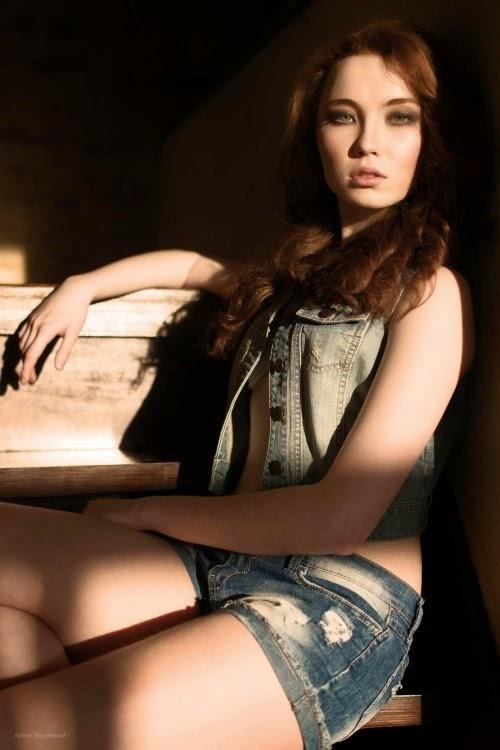 Artem Bescennyj fotografia mulheres modelos russas sensuais Albina