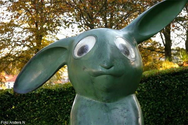 Borås, Marianne Lindberg De Geer, kanin, stadsparken