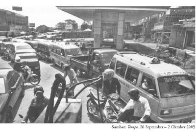 kelangkaan bbm bahan bakar minyak