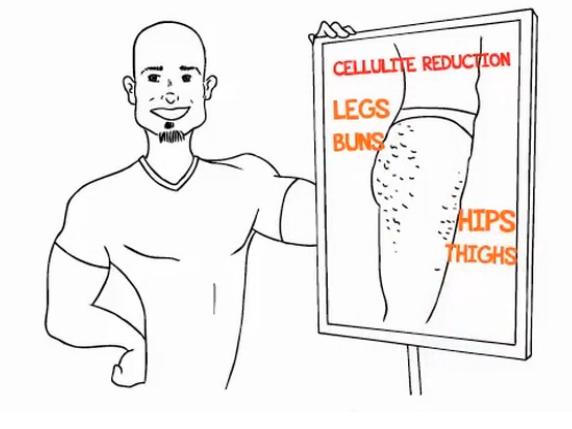 """10 Mitos Tentang Selulit, Metode Unik """"Kick Butt Cellulite Redux"""""""
