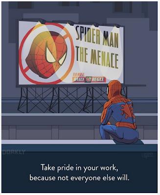 Pelajaran hidup dari kisah superhero