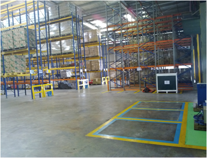 SEIKETSU - Standardize place for Forklift parking & charging area