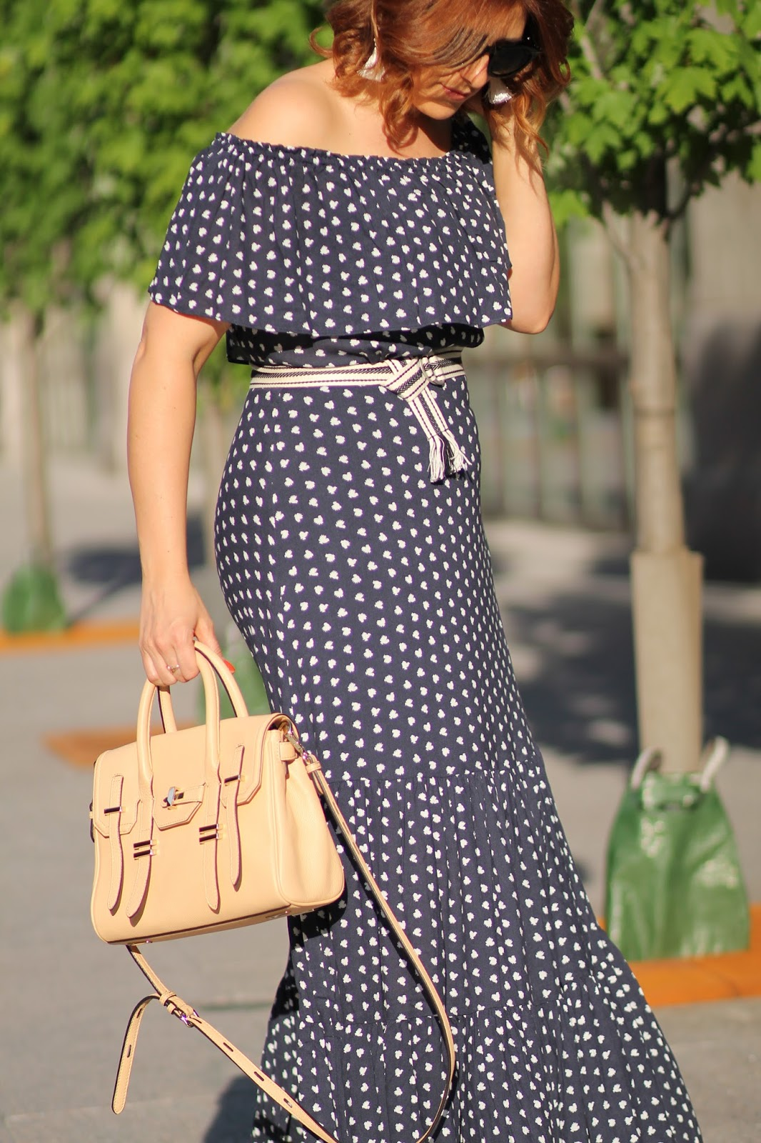 off, the, shoulder, french, hen, dress, jules, satchel, rebecca, minkoff