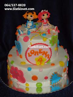 Torta Lalalups Lalaloopsy