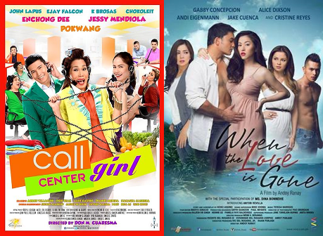 Call Center Girl Gross P33.8-M, When the Love is Gone P18.8-M on 1st Week | Box Office Mojo