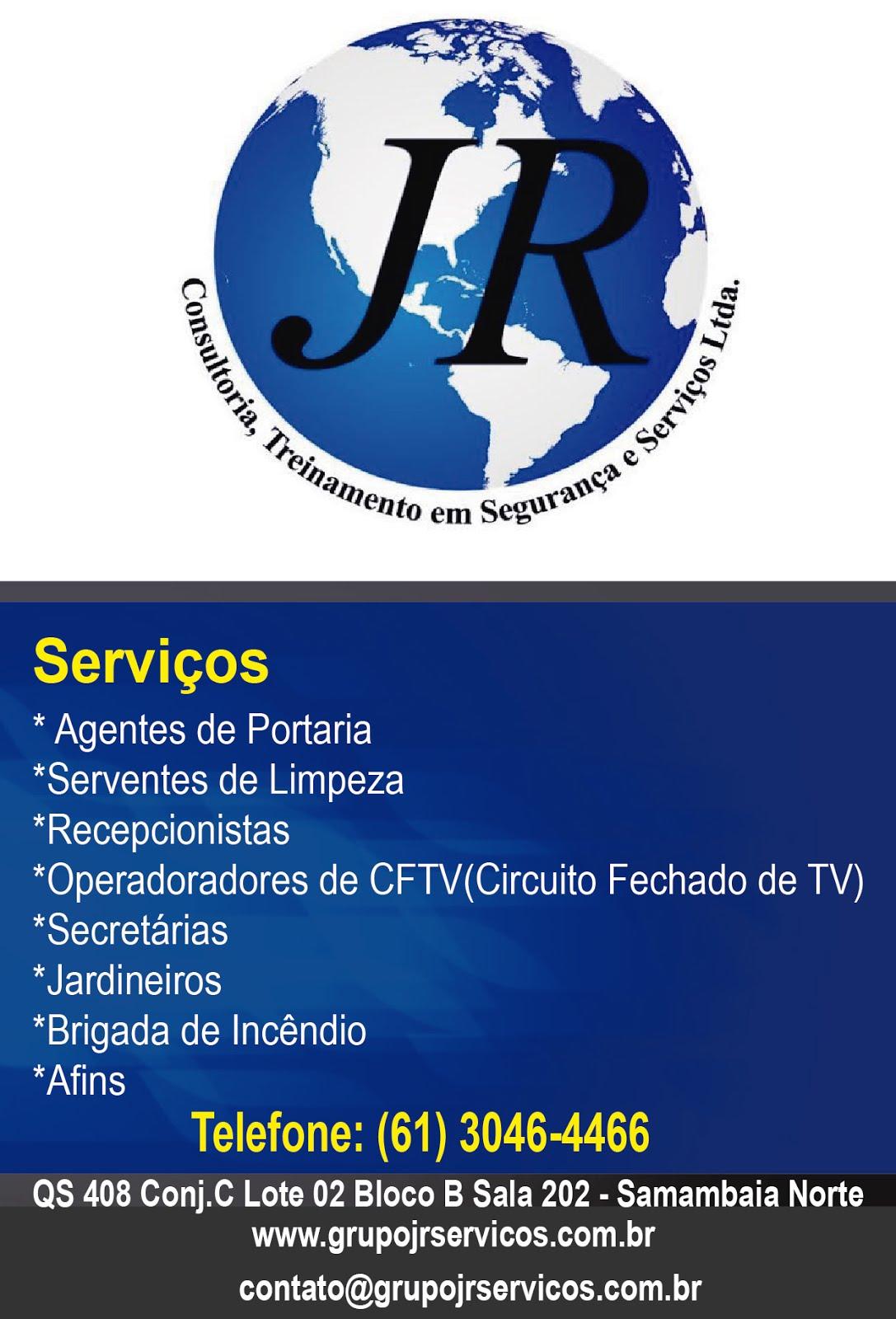 JR CONSULTORIA E TREINAMENTOS