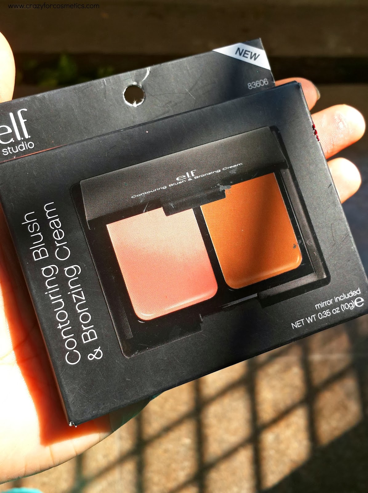 ELF Contouring & Blush Kit Cream review