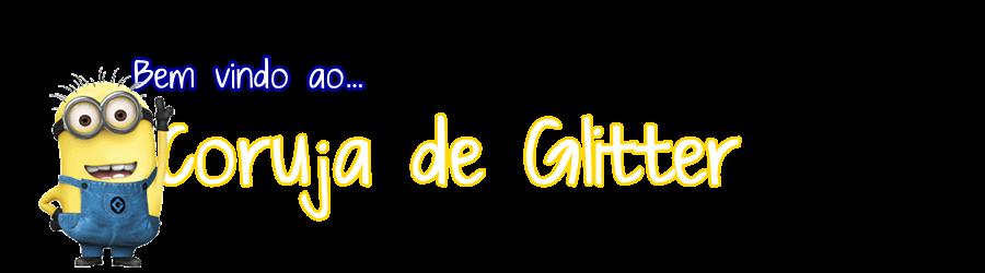 Coruja de Glitter