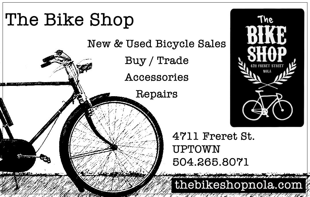 The Bike Shop 4711 Freret St New Orleans, La 70115