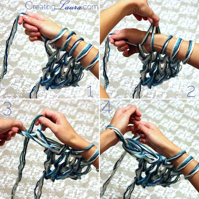 DIY Triplet Shawl
