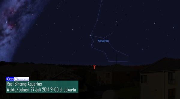 Hujan Meteor Delta Aquarid Bakal Muncul di Hari Raya Idul Fitri