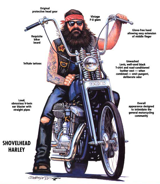 Odeio cultura biker - Página 2 Outlaw+biker+cartoon