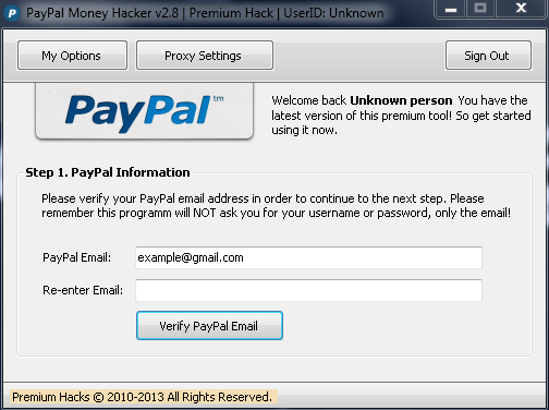 how to add money to paypal account hack