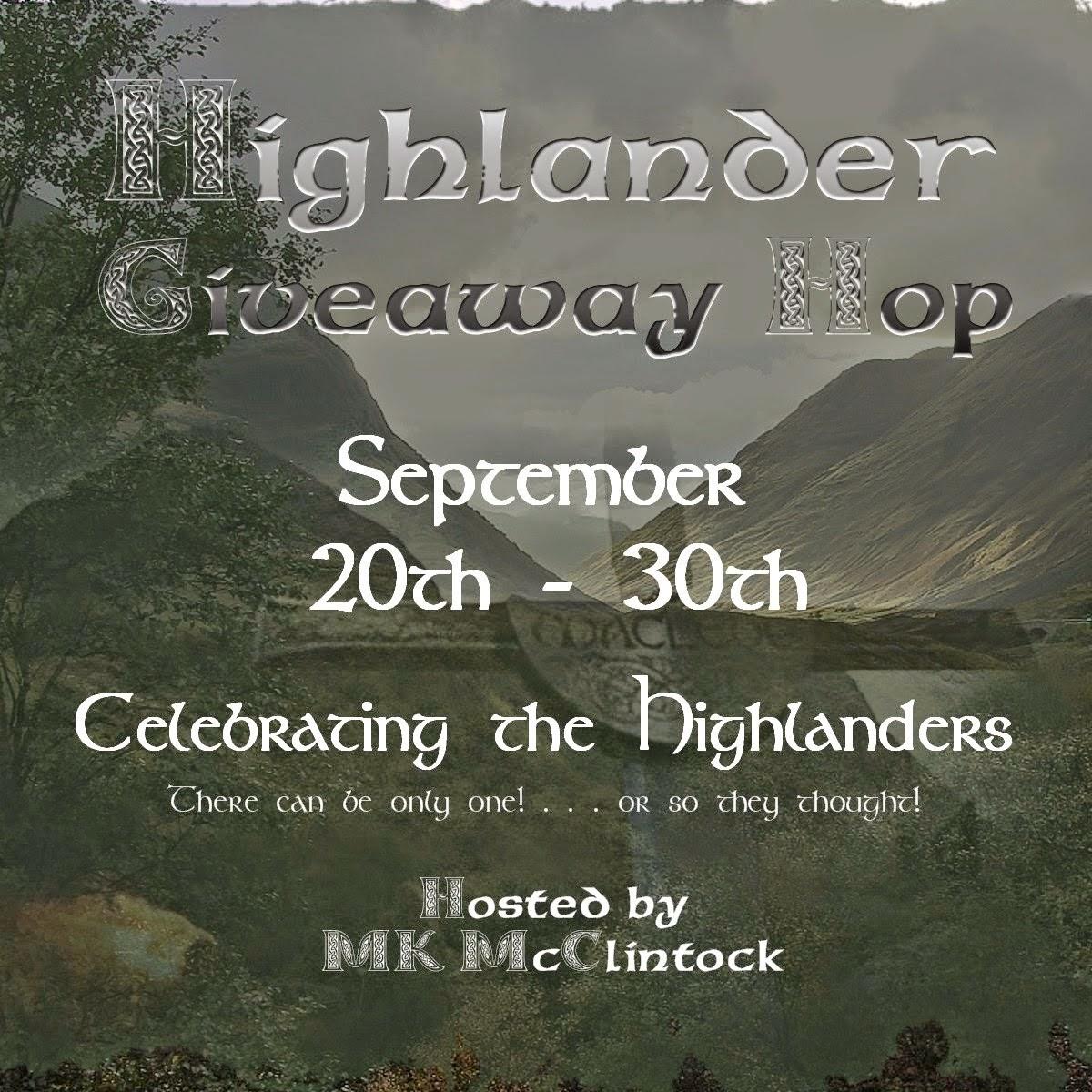 3rd Annual Highlander Giveaway Hop