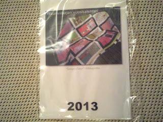 Tilkunviilaaja: Vuosikalenteri 2013 on saapunut Ifolorilta