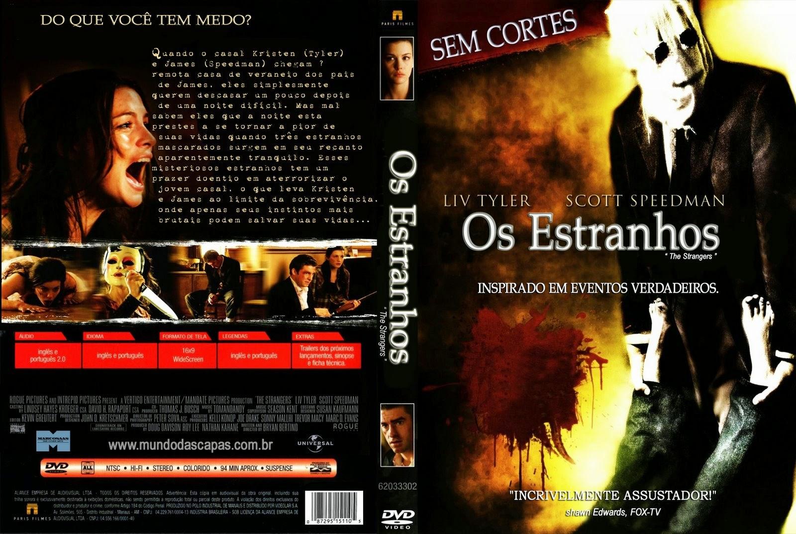 Os Estranhos DVD Capa