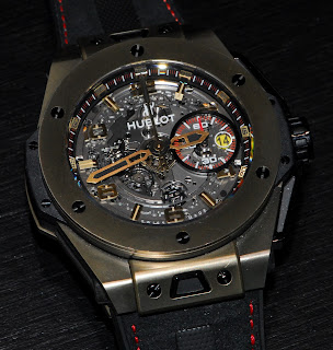Montre Hublot Big Bang Ferrari Magic Gold référence 401.MX.0123.GR