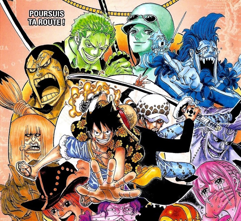 Manga One Piece Volume 76 Terjemahan Indonesia: Perang