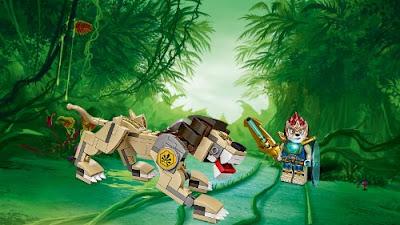 Chima, en busca de las bestias legendarias