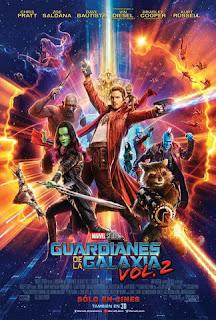 Poster de Guardianes de la Galaxia: Vol. 2