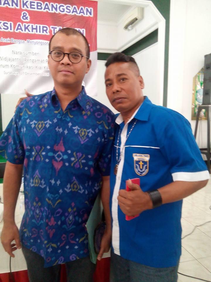 Dr. ANDI WIDJAJANTO ( Pengamat Intelejen & Pertahanan Negara )