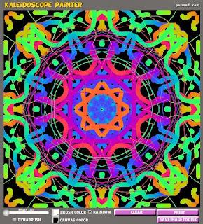 Mandala Kaleidoscope Painter