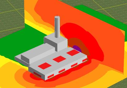 Mapa acustico industrial