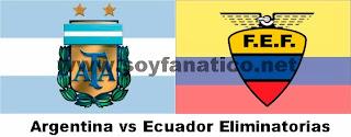 Argentina vs Ecuador por las Eliminatorias 2015