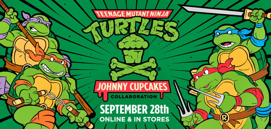 Nickelodeon And Johnny Cupcakes Collaborate For New Teenage Mutant Ninja Turtles Clothing Accessories Line