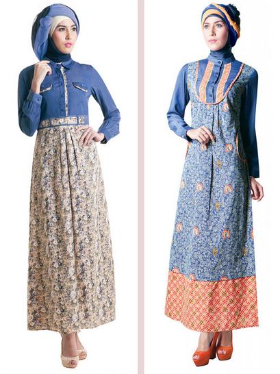 Baju Muslim Batik Model Baru