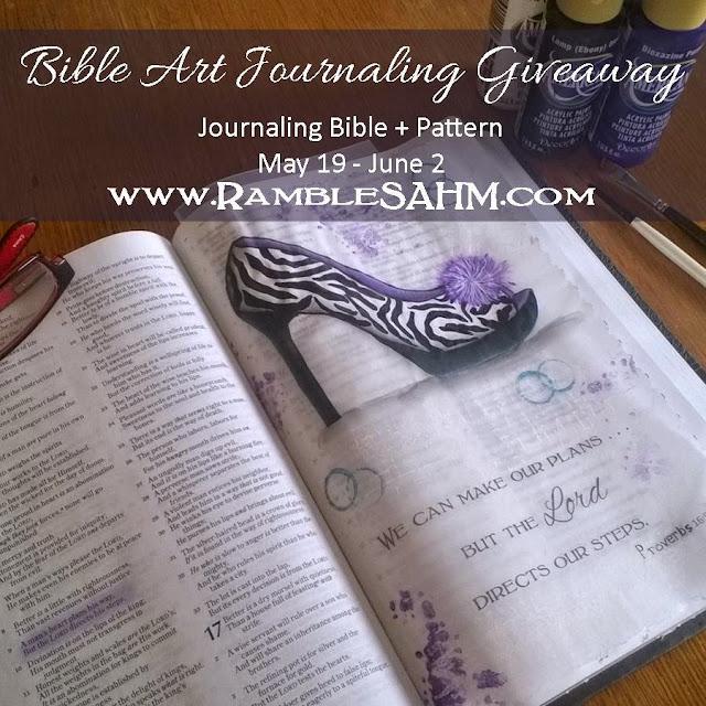 Bible Art Journaling Giveaway